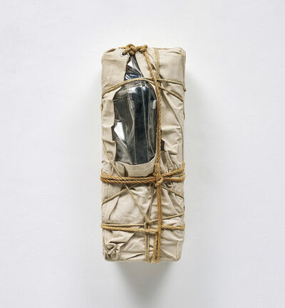 Christo and Jeanne-Claude, 'Wrapped Payphone', 1988
