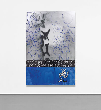 Ida Ekblad, 'Being Sinks Into Mere Stuff', 2014