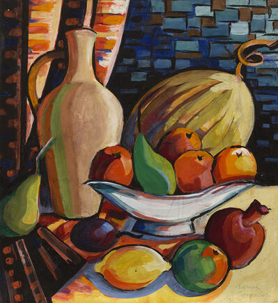Kirill Zdanevich, 'Jug, melon and fruits in a vase', 1964