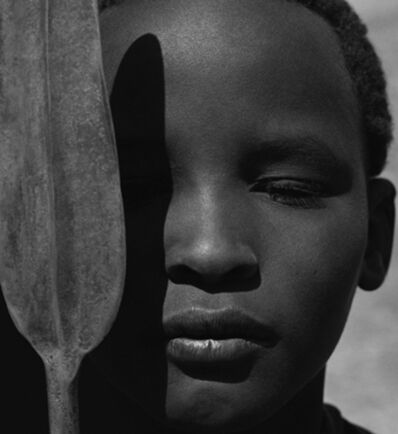 Herb Ritts, 'Loriki with Spear, Africa', 1993
