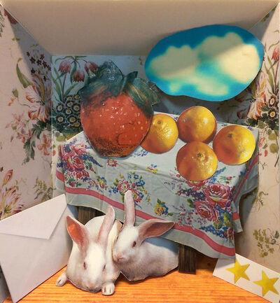 David Elliott, 'Lover's Prayer w Rabbits & Strawberry', 2018