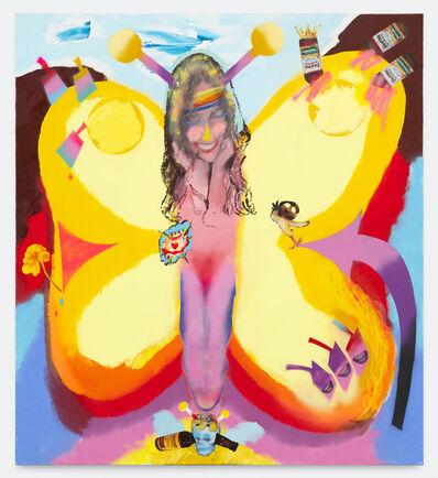 Alessandro Pessoli, 'Butterfly girls', 2020
