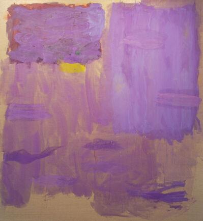Monique Frydman, 'Violet en mauve III', 1992
