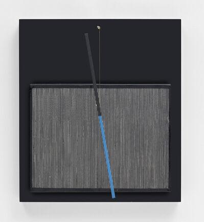 Jesús Rafael Soto, 'Incliné bleu et noir', 1966