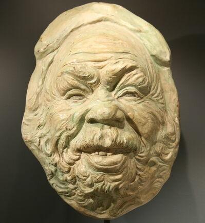 Jean-Joseph Carriès, 'Mask', 1891
