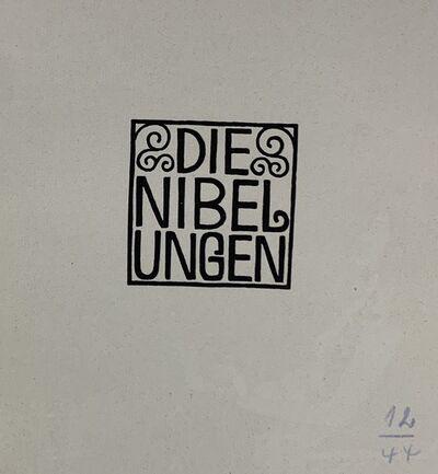 Carl Otto Czeschka, 'Die Nibelungen dem Deutschen Volke', 1924