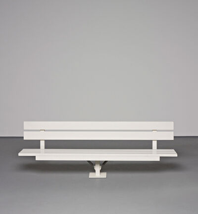 Jeppe Hein, 'Modified Social Bench #8', 2005
