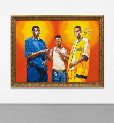 Kehinde Wiley, 'Passing/Posing (Marriage of the Virgin)', 2005