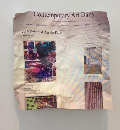 William Powhida, 'Didactics (Contemporary Art Daily)', 2017