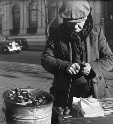 John Albok, 'Chestnut Vendor, Depression', 1933