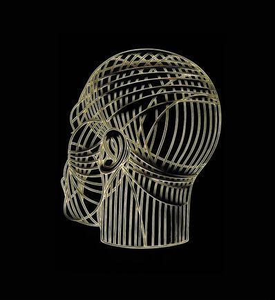 Max Gärtner, 'Bronze Head', 2018