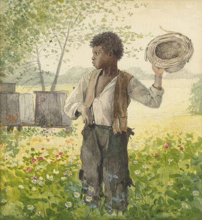 Winslow Homer, 'The Busy Bee', 1875