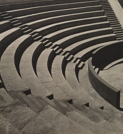 Imogen Cunningham, 'Mills College Amphitheatre', 1920