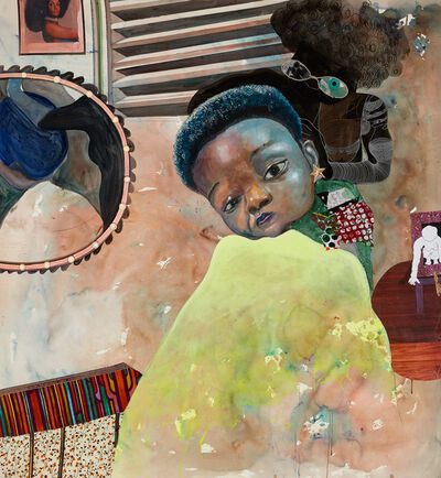 Ndidi Emefiele, 'Ghost plaiters', 2020