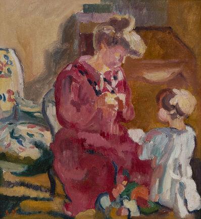 Louis Valtat, 'Suzanne et Jean enfant', ca. 1910