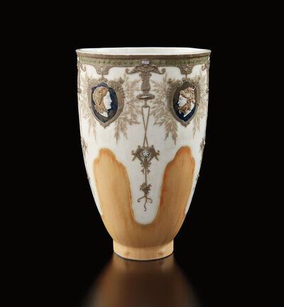 """Taxile Doat, '""""Profils d'Amazones"""" vase', 1901"""