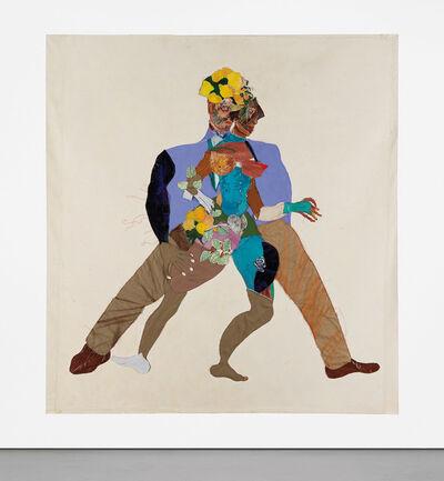 Tschabalala Self, 'Mista & Mrs.', 2016
