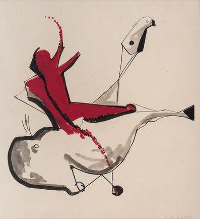 Marino Marini, 'Cavallo e cavaliere', ca. 1951