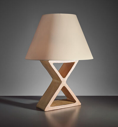 "Jean-Michel Frank, 'Large ""X"" table lamp', circa 1928"