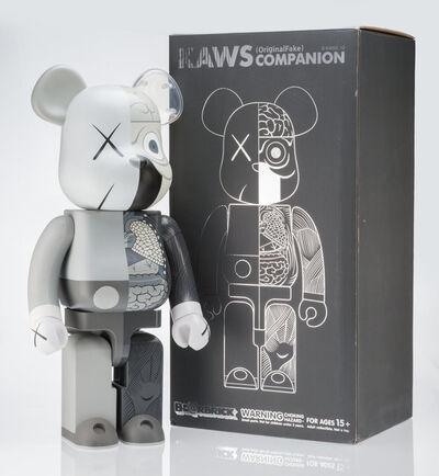 KAWS, 'Dissected Companion 1000% (Grey)', 2010