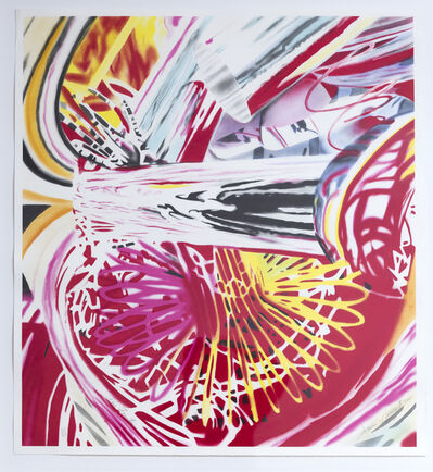 James Rosenquist, 'Fire Fountain', 2005