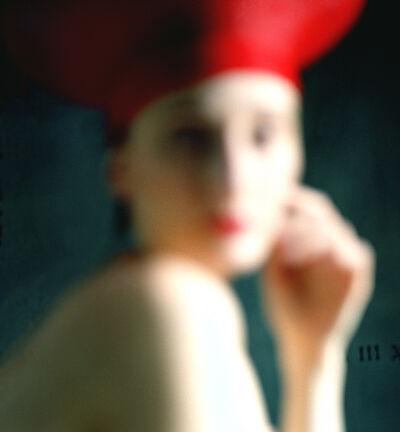 Rodney Smith, 'Bernadette in Red Hat, Snedens Landing, NY', 2002