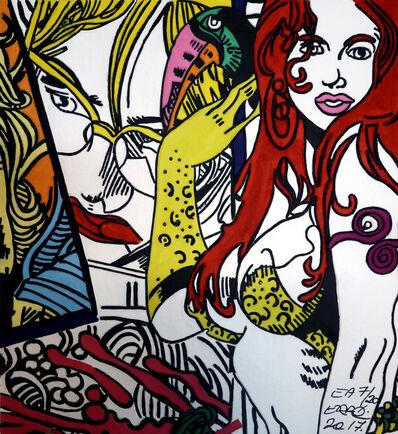 Erró, 'Femme au Toucan', 2017