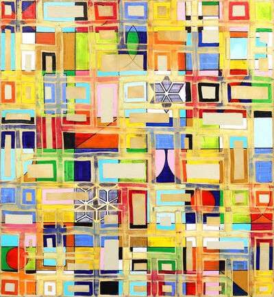 Petra Rös-Nickel, 'Pattern Mix', 2020