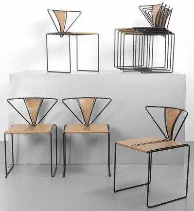 Kazuhide Takahama, 'Eight chairs 'Iside' for SIMON ULTRAMOBILE', 1991