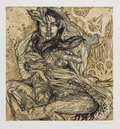 Swoon, 'Monica', 2010