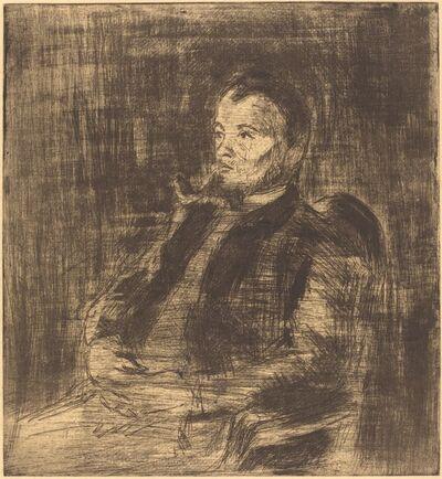 Camille Pissarro, 'Paul Signac (Portrait de Paul Signac)', ca. 1890