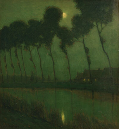 Charles Warren Eaton, 'Bruges Moonlight', ca. 1910
