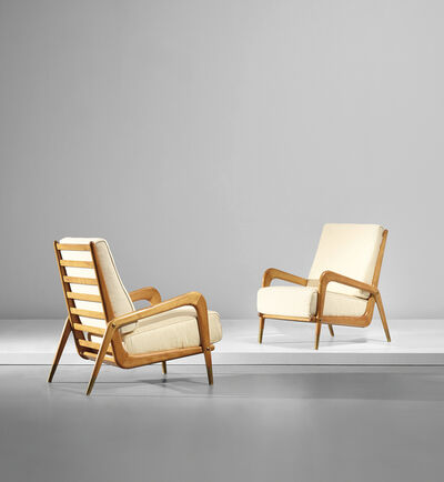 Gio Ponti, 'Pair of rare armchairs', circa 1937