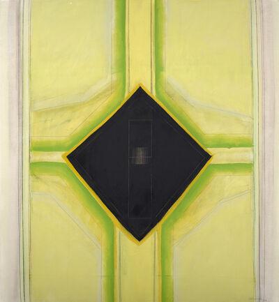 Ida Kohlmeyer, 'Black Insert', 1968