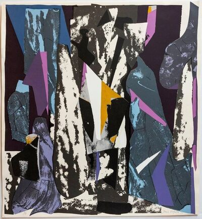 Dario Villalba, 'Untitled Abstract Spanish Modern Lithograph Signed and Numbered', 1980-1989