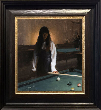 Nicholas Alm, 'Pool Player', 2017