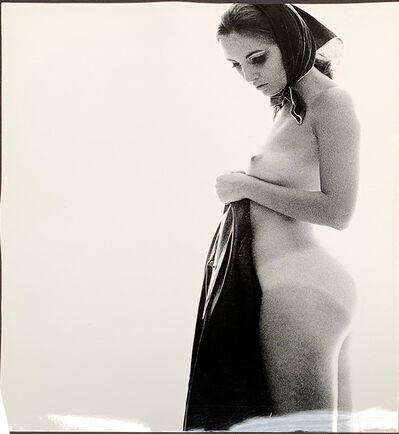 Sam Haskins, 'November Girl with raincoat ', 1962