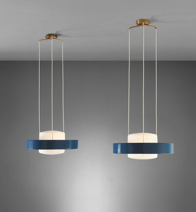 Stilnovo, 'Pair of ceiling lights, model no. 1158', circa 1955