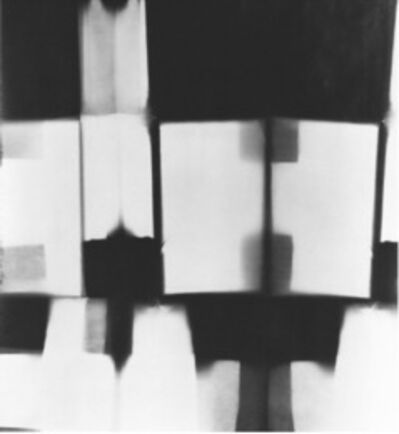 Floris Neusüss, 'Faltbild (Tel 17)', 1964