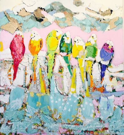 George Schulman, 'Birds That Smile', 2016