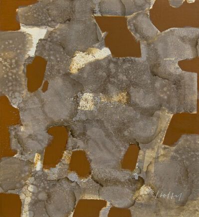 Carl Holty, 'Gray Stains with Brunt Sienna', Mid 20th Century