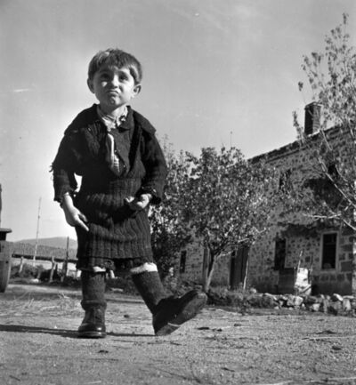 David Seymour, 'Elefteria and her new shoes', 1949