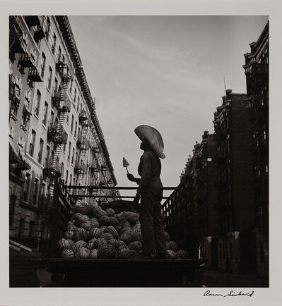 Aaron Siskind, '[Watermelon Man], from the Harlem Series', 1940-likely printed 1970