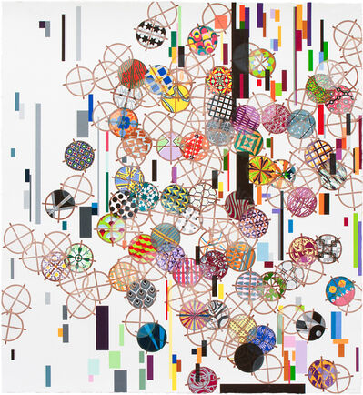 Jacob Hashimoto, 'Cloud Reservoirs in Finite Glitch Space (Reservoir V)', 2018