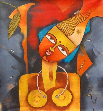 Prakash G Nayak, 'Goddess', 2017