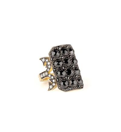 Sylva & Cie, 'Black Diamond Ten Table Ring', 2017