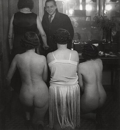 Brassaï, 'Introduction Chez Suzy, rue Grégoire-de-Tours, Paris', 1932-printed later