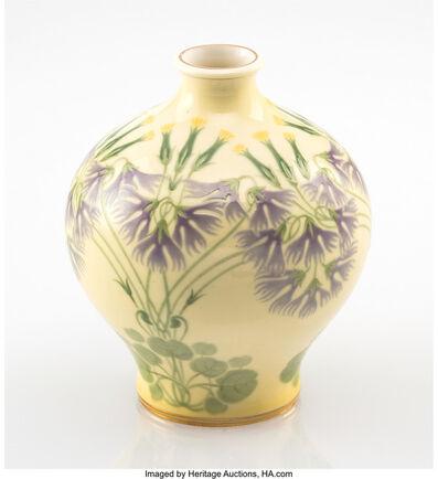 Sèvres Porcelain Manufactory, 'Wildflower Cabinet Vase', 1904