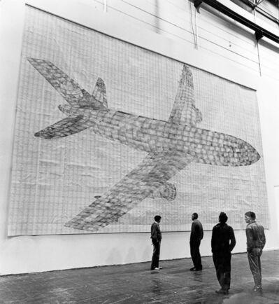 Thomas Bayrle, 'Flugzeug [Airplane]', 1982-1983