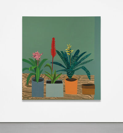 Jonas Wood, 'Small Green 84', 2011